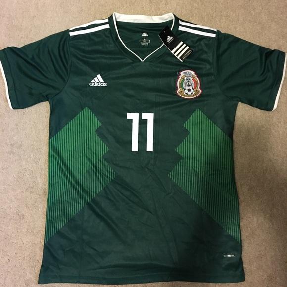 411e456f2eb Mexico Home Jersey 11  Carlos Vela